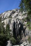 De Berglandschap van het Yosemite Nationaal Park Stock Afbeelding