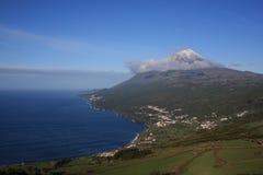 De berglandschap van Pico royalty-vrije stock foto's