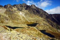 De bergmeren van de boom Royalty-vrije Stock Fotografie