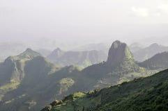 De bergpark van Simien Royalty-vrije Stock Fotografie