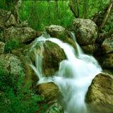De bergrivier van de zomer Royalty-vrije Stock Foto