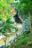 De Bergrivier van Obluang in Thailand Royalty-vrije Stock Foto