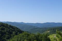 De bergvallei Stock Afbeelding
