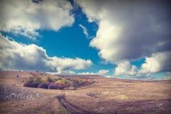 De bergvallei van de Krim Stock Fotografie