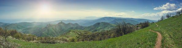 De bergvallei van de Krim Royalty-vrije Stock Afbeelding