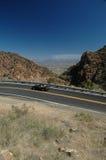 De bergweg van Arizona royalty-vrije stock foto's