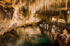 De Bermudas Crystal Cave Royalty-vrije Stock Foto