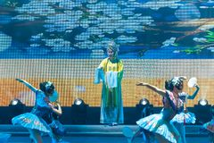 De beroemde acteur-ballet-algemene Vakbonds` s Dag van de Arbeid toont Royalty-vrije Stock Foto's