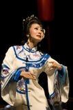 De beroemde actrice van de Opera van Sichuan Stock Foto's