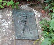 De beroemde Appalachian Teller van het Sleepbrons Royalty-vrije Stock Afbeelding