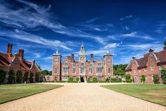 De beroemde Blickling-Zaal in Engeland Royalty-vrije Stock Afbeelding