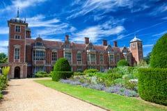 De beroemde Blickling-Zaal in Engeland Stock Foto's