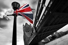 De beroemde Brug van de Toren, Londen, het UK Stock Fotografie