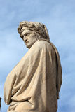 De beroemde dichter Dante Alighieri Stock Fotografie