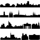 De beroemde gebouwen van Duitsland. Royalty-vrije Stock Fotografie