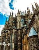 De beroemde Kathedraal van Keulen, Duitsland Stock Foto