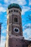 De beroemde Kathedraal van München, riep ook Kathedraal van Onze Beste Dame, München royalty-vrije stock afbeeldingen