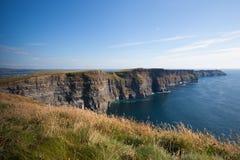 De beroemde Klippen van Moher in Ierland Stock Afbeelding