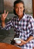 De beroemde maanmoeder in maanberg, guailin, China Stock Fotografie