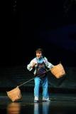 De beroemde opera van Li Jiangxi van Chen van de operaacteur een weeghaak Stock Foto