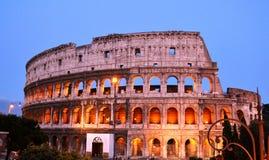 De beroemde plaats Colosseum Stock Foto