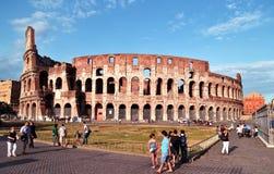 De beroemde plaats Colosseum Stock Fotografie