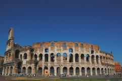 De beroemde plaats Colosseum Stock Afbeelding