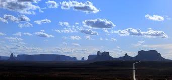 De beroemde plaatsen van de V.S. De Vallei van het monument Royalty-vrije Stock Fotografie