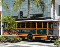 De beroemde straat van de Rodeoaandrijving in Beverly Hills royalty-vrije stock foto's