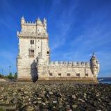 De beroemde toren van Belem Stock Foto