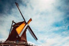 De beroemde windmolens van Holland royalty-vrije stock afbeeldingen