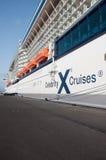 De beroemdheid kruist schip Royalty-vrije Stock Foto's