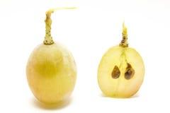 De bes en de zaden van de druif royalty-vrije stock afbeeldingen