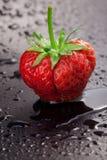 De bes van aardbeien Stock Foto's