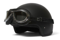 De beschermende brillen van de helm adn Stock Afbeeldingen