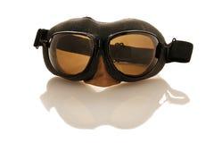 De beschermende brillen van de loods Stock Foto's
