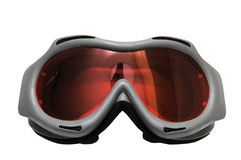 De Beschermende brillen van de ski stock foto's