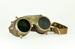 De beschermende brillen van Steampunk Stock Foto