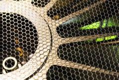 De beschermende industriële ventilator van het metaalnetwerk Royalty-vrije Stock Afbeelding