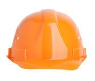 De beschermende sinaasappel van de bouwhelm royalty-vrije stock fotografie