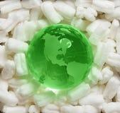 De bescherming van de aarde, milieuconcept Stock Afbeelding