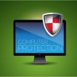De bescherming van de computer Royalty-vrije Stock Fotografie