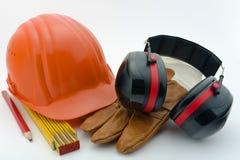 De bescherming van de gezondheid en van de veiligheid bij werkplaats-2 Stock Fotografie