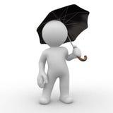 De bescherming van de paraplu Royalty-vrije Stock Foto