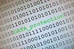 De bescherming van gegevens Stock Afbeeldingen