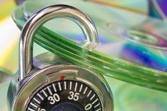 De bescherming van gegevens Stock Afbeelding