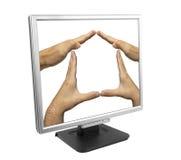 De bescherming van gegevens Stock Fotografie