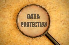 De bescherming van gegevens Stock Foto