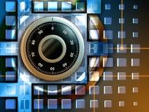 De bescherming van gegevens stock illustratie