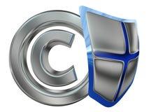 De bescherming van het auteursrecht Royalty-vrije Stock Foto's